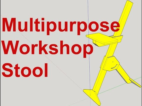 Multipurpose Workshop Stool