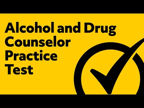 Alcohol and Drug Counselor Practice Exam