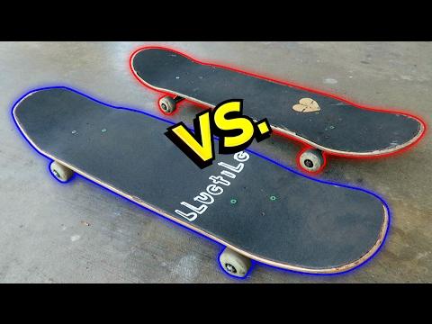 SHAPED SKATEBOARDS vs NORMAL SKATEBOARDS