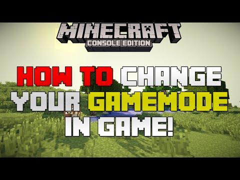 Minecraft Xbox & Playstation: How to Change Your Gamemode In-Game!