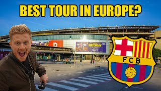 FC BARCELONA STADIUM TOUR! Camp Nou, The ULTIMATE Stadium Tour!