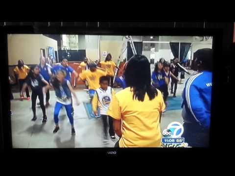 Warriors Jr. Jam Squad on ABC Channel 7 News!