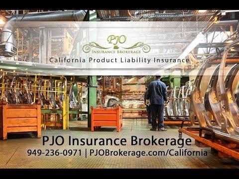 California Product Liability Insurance