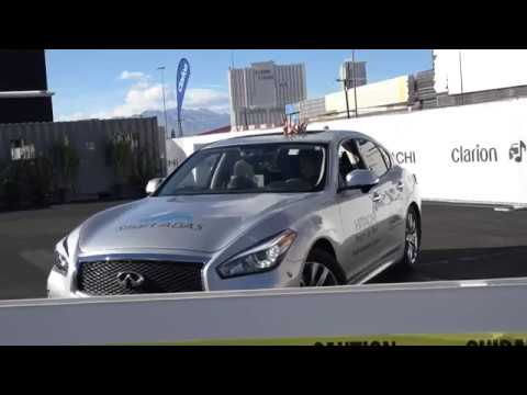 Clarion Autonomous Driving Demo at CES 2018