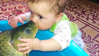 Haha Don't Kiss That!   😂  Funny Baby Video   We Laugh