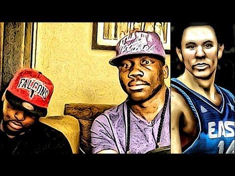 NBA 2k13 MyTEAM - FaceCam AiiRxJONES SLEEP - NBA 2k14 Official Trailer Thoughts