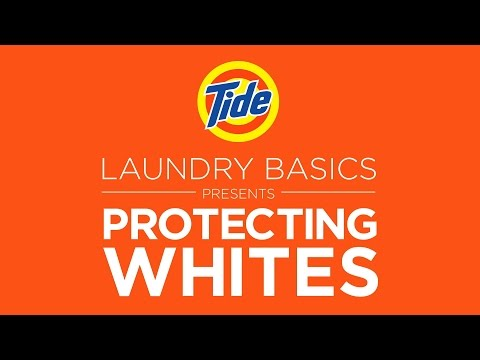 Tide | Laundry Tips: How to Protect Whites