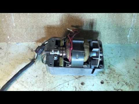 How the the brush motor works