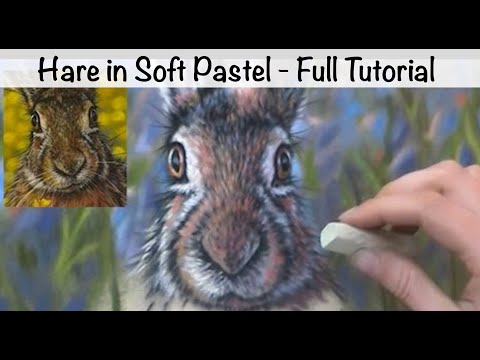 How to Paint Fur on a Hare: Pastel Tutorial 2