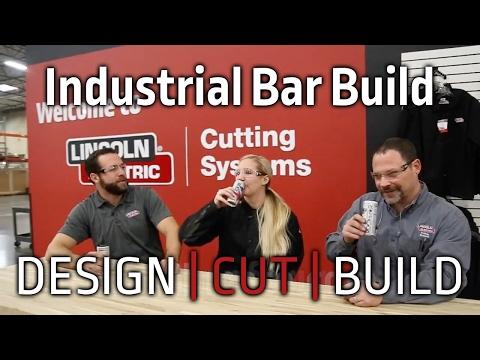 Design Cut Build | Episode 1 Industrial Bar Build