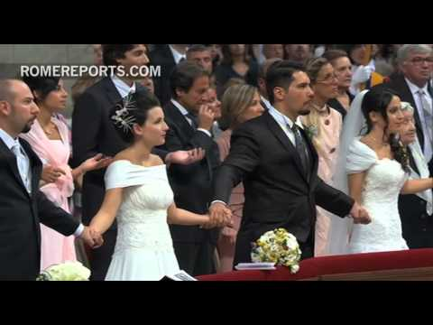 Pope gives seven tips on how to argue  in a marriage