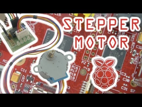 Stepper Motor Control with the Raspberry Pi