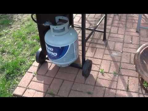 How To Install The Propane Tank On Your Grill -DIY Daddy