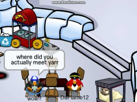 Club Penguin Interview with Rockhopper