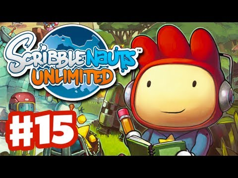 Scribblenauts Unlimited - Gameplay Walkthrough Part 15 - Anaphora Falls (PC, Wii U, 3DS)