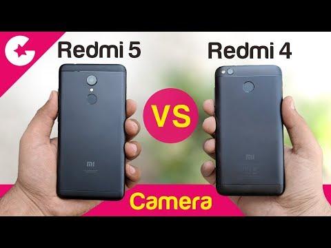Xiaomi Redmi 5 vs Redmi 4 (Camera Comparison) Should You Upgrade?