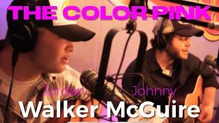 "Walker McGuire sing ""The Color Pink"""