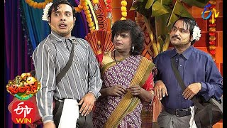 Chalaki Chanti & Sunami Sudhakar Performance  Jabardasth Sankranthi Special  14th January 2021  ETV