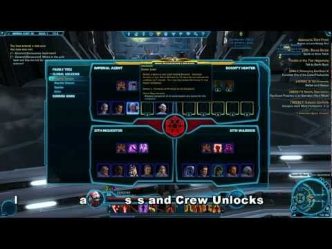 SWTOR Patch 1.2 Legacy Features