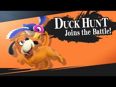 Super Smash Bros Wii U - Join the Battle - Duck Hunt
