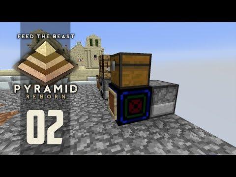 FTB Pyramid Reborn - Ep. 2: RESOURCE GEN! (Modded Minecraft 1.12)