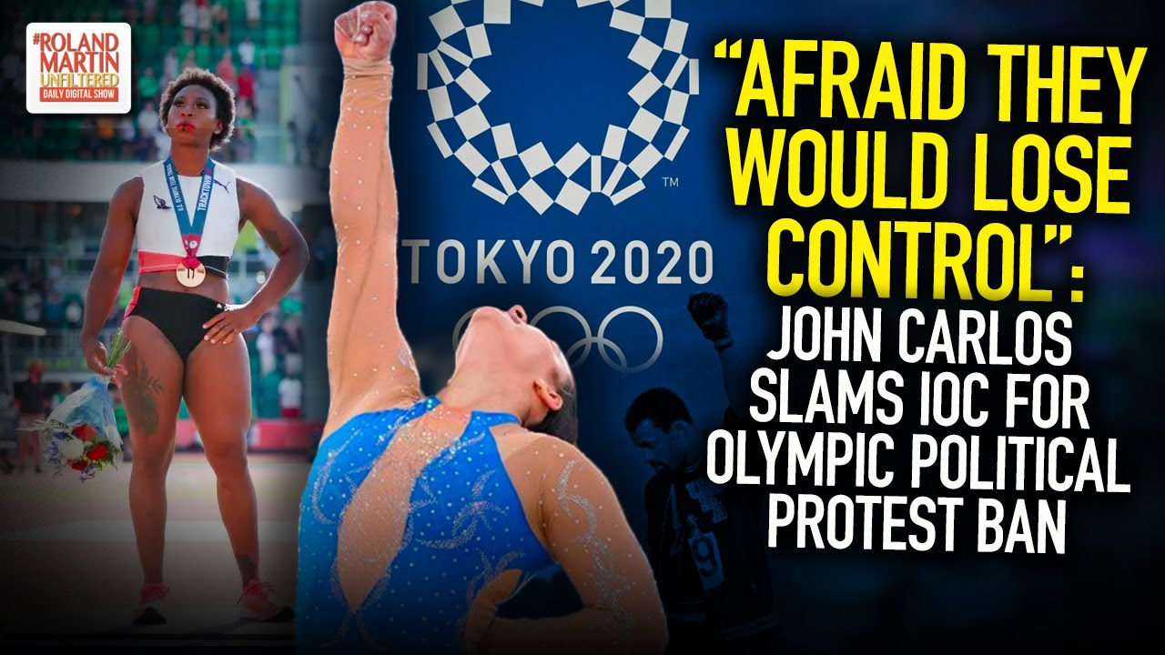 """""""Afraid They Would Lose Control"""": John Carlos Slams IOC For Olympic Political Protest Ban"""