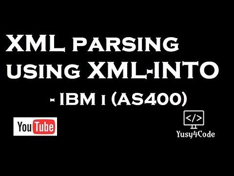 XML parsing using XML-INTO in RPGLE - IBM i