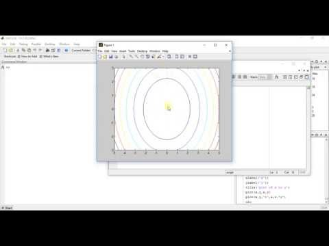 MATLAB Programming 51 - how to draw contour