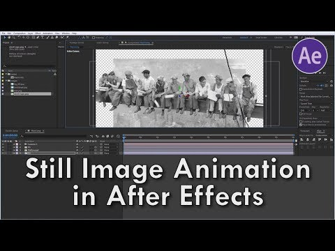 After Effects Tutorial: Still image animation / 2.5 D animation / parallax effect by flomotion