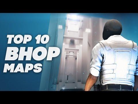 TOP 10 BUNNYHOP MAPS ★ CS:GO