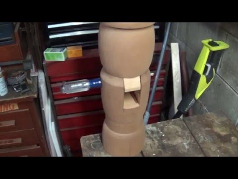Building a 3 Foot Tall Wooden Nutcracker Hearth Decoration - #8
