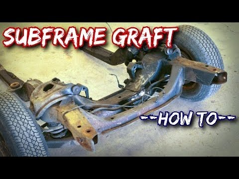 How To: Subframe Graft (Front Clipping)