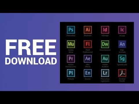 how to download and install Photoshop, Illustrator, Indesign, AfterEffect, Premiere Pro CC for Free