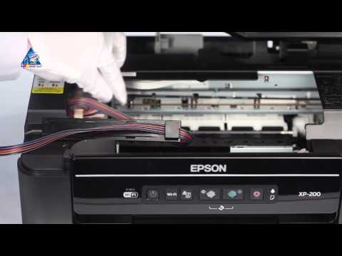 CISS Installation on Epson Expression Home XP-200