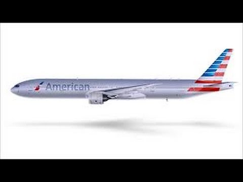 How To Make a American Airlines Plane ROBLOX