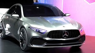 Mercedes Concept A Driving Scenes World Premiere New Mercedes C Class 2018 Concept CARJAM TV HD