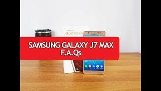 Samsung Galaxy J7 MAX Unboxing & 1st Impression (vs  Moto G5