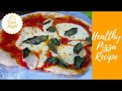 How to Make Pizza from Home | Whole Wheat Margherita Style Pizza