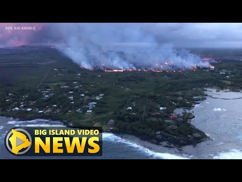 Hawaii Volcano Eruption Update - Saturday Night (June 2, 2018)