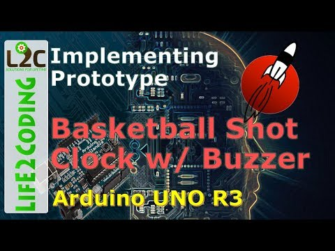 Implementing Prototype - Basketball Shot Clock