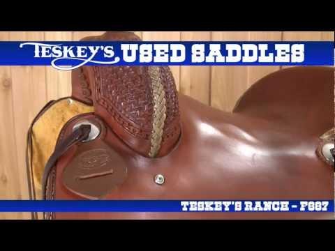 Teskey's Buys and Sells Used Saddles!