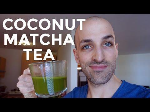 Coconut Matcha Tea - great Coffee alternative on Keto