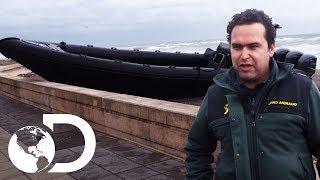 Guardia Civil Sigue Rastro De Narcotraficantes   Control De Fronteras   Discovery Latinoamérica