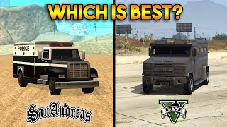 GTA 5 RIOT VS GTA SAN ANDREAS ENFORCER : WHICH IS BEST?