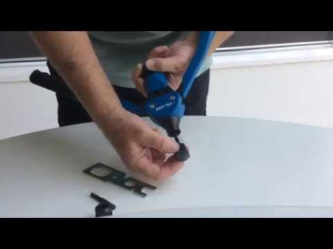 How to use the Bralo TR-308 Rivet Nut Tool
