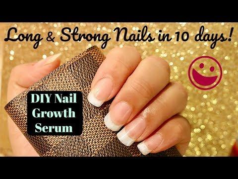 How to grow LONG & STRONG nails FAST! (DIY Nail Serum at home)