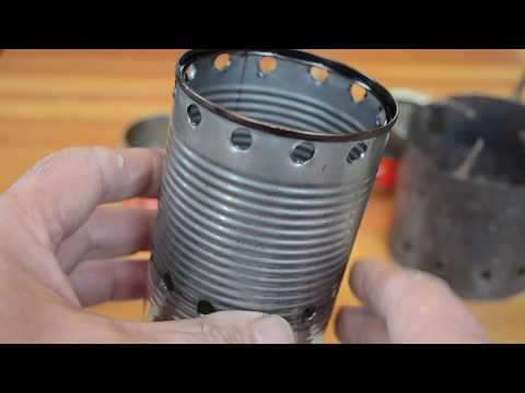 A New Design of Alcohol Backpacker Stove uses the