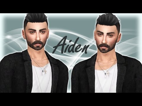 THE SIMS 4 | Create a Sim | Aiden + cc list and sim download