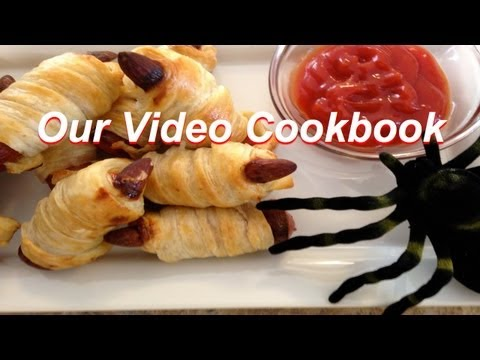 Mummy Fingers Halloween Recipe | Our Video Cookbook #127