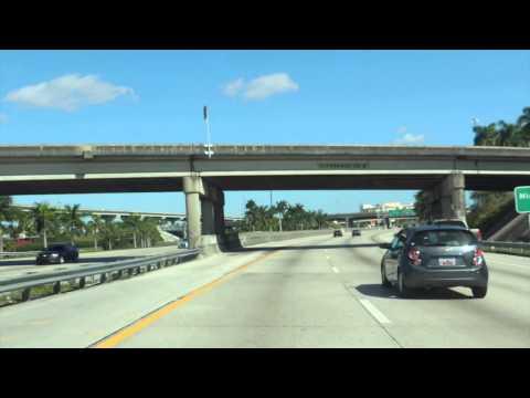Ruta Miami - Orlando por la I 95